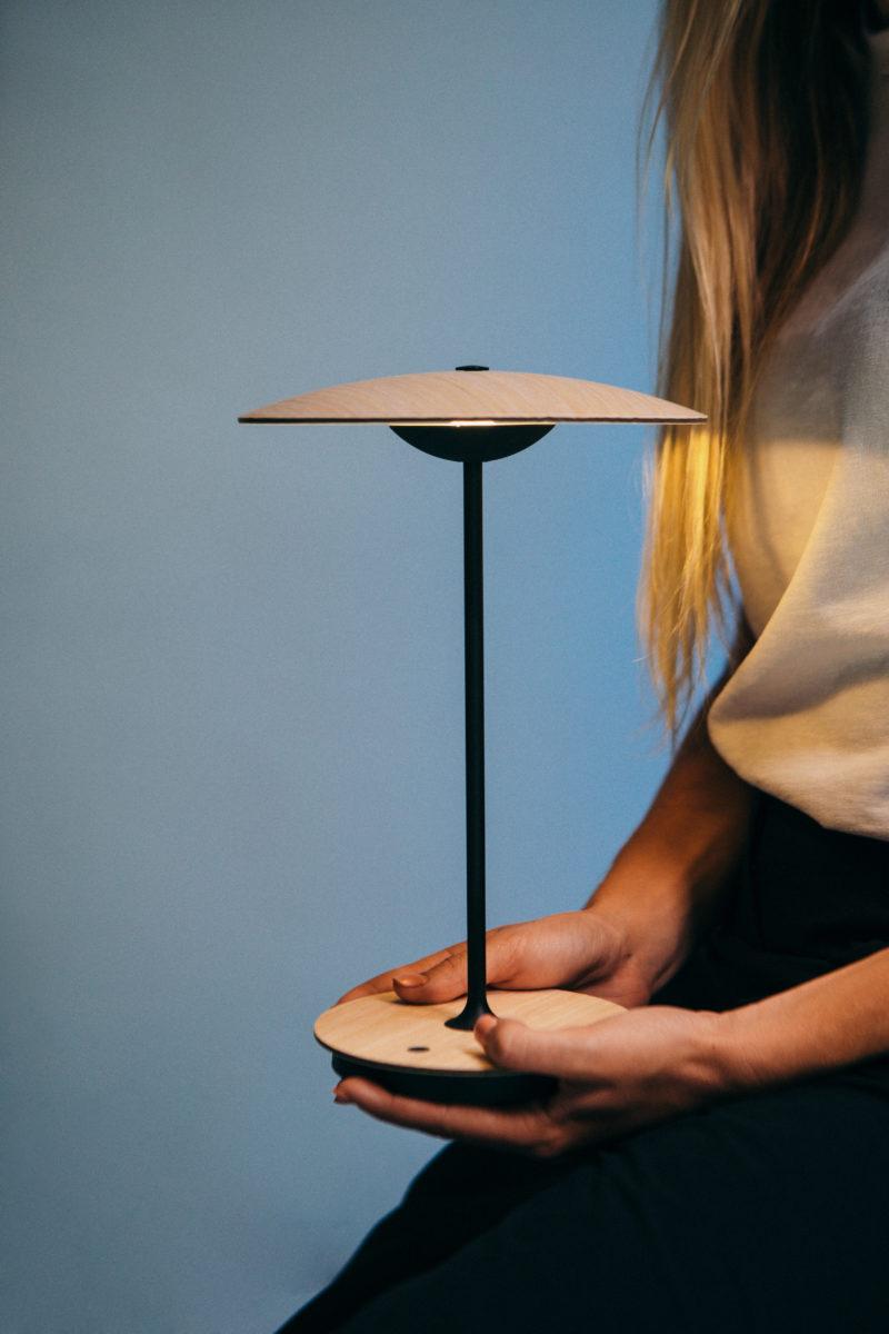 Portable Lamp - LED-Ginger