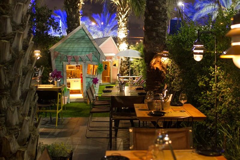 Segev kitchen garden marset for Cafe de jardin in covent garden